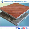 25mm Red Travertine Stone Composite Aluminum Honeycomb Panel