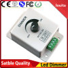 1 Channel Strip LED Dimmer Switch Balck Adjustable Brightness Controllrt