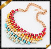 Fashion Necklace Jewelry, Metal Alloy Necklace, Ribbon Necklace (FN016)