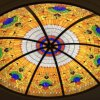 Art Building Home Projects Toughened Stained Glass Mosaic Dome