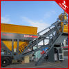 2016 Popular Mobile Concrete Mxing Plant Capacity 60m3-100m3