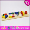 2017 New Design Toddlers Geometry Blocks Wooden Montessori Learning Materials W12f013