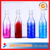 1000ml Colors Spraying Glass Drinking Bottle with Water Milk Wine