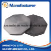 China Round Black Rubber Elastic Pad
