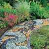 Landscaping Paving River Stone Natural