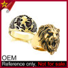 High Quality Personalized Jewelry Gold Lion of Judah Ring