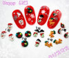 Nails Polymer Clay Nail Art /Christmas Series/ DIY Nail Decoration