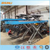 Ce Approved Ultrathin Double Level Scissor Alignment Car Lifts