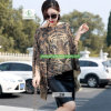 Hot Sell Europe Winter Tiger Knitted Shawl Fashion Women Dress