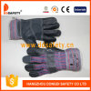 Ddsafety 2017 Cow Split Gloves Safety Glove with Cotton Back Pass Ce