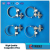 Galvanized Steel Down Lead Clamp for Pole