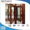 New Design Thermal Break Aluminum Double Tempered Glass Casement Window Suppliers