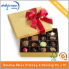 High End Paper Chocolate Packaging Box with Ribbon (AZ122809)