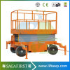 6m-12m Electric Towable Lift Aerial Work Man Lift Platform