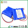 High Capacity 10400mAh Li Ion 18650 1s4p Battery Pack
