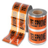 Free Sample Available Orange Underground Detectable Warning Tape