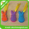 Rabbit Cartoon PVC Rubber Luggage Tag (SLF-LT053)