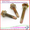 Hex Head Self-Drilling Screw with EPDM Washers