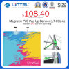 Square Tube Aluminum Banner Stand Magnetic Pop up (LT-09L-A)