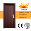 Hot Sale PVC MDF Door with Cheap Price (SC-P091)