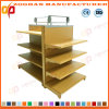Popular Gondola Double Sides Supermarekt Shelf with Light Box (ZHs647)