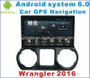 Android System 6.0 Car GPS for Wrangler 2016 with GPS Navigation