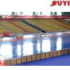 Jy-765 Manufactory Plastic Tip-up Basketball Bleacher Retractable Seats Soccer Bleachers