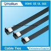 Stainless Steel PVC Cpated Cable Ties Wing Locked Type