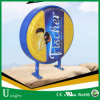 Advertising Store Front Vacuum Forming Acrylic Round Light Box