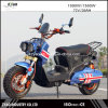 72V 1000W Vespa Electric Scooter, 2 Wheel Electric Standing Moped Scooter for Sale