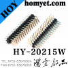 2.54mm Pitch Right-Angle Pin Header Breakaway Header with Reel Packing (HY-25404W-D1)