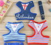 Striped Sailor Pet Harness