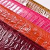 Embossed Crocodile PVC Leather for Handbags