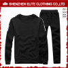 Wholesale Cheap Plain Black Tracksuit Set (ELTTI-51)