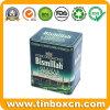 Food Packaging Rectangle Metal Tin Tea Box Factory