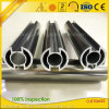 Polished Aluminium Extrusion for Ceiling Mount Shower Curtain Track