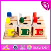 2017 New Design Children Educational Blocks Box Wooden Best Montessori Toys W12f002