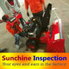 Snow Sweeper Quality Control Inspection Service / First Article Inspection / During Production Inspection / Pre-Shipment Inspection