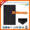 255W 156*156 Black Mono Silicon Solar Module with IEC 61215, IEC 61730