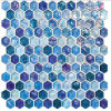 Decorative Hexagon Mosaic Glass Tile