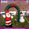 Hot Inflatable Santa Snowman Arch for Christmas Decoration