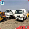 Japan_Original 2007year_Fuso 8m3_Rustless_Drum Concrete Mixing Truck (6D24ENGINE)