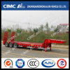 High Strenth Cimc Huajun 13m Lowbed Semi-Trailer