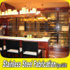 Modern Stainless Steel Bar Wine Cabinet for Hotel KTV Bar