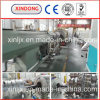 75-250mm Steel Wire Winding HDPE Pipe Extruder