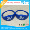 Logo Printed Fabric RFID Wristband/Bracelet with Tk4100/Mf S50 for Events
