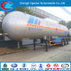 49.6cbm 50cbm 57cbm LPG Trailer 3 Axles LPG Tanker Trailer