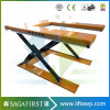 High Quality 3ton Static Scissor Goods Lift Platform
