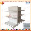 Customized Metal Backhole Supermarket Gondola Shelving Unit (Zhs459)