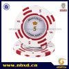 14G 2-Tone Clay Monte Carlo Sticker Value Poker Chips